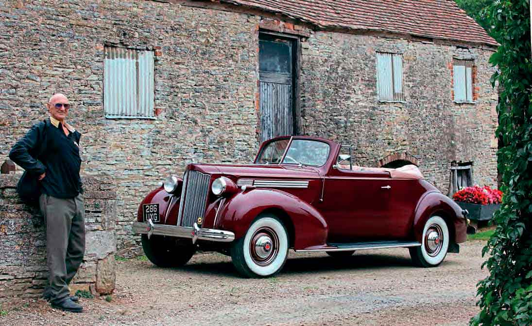 1939 Packard Convertible Coupe