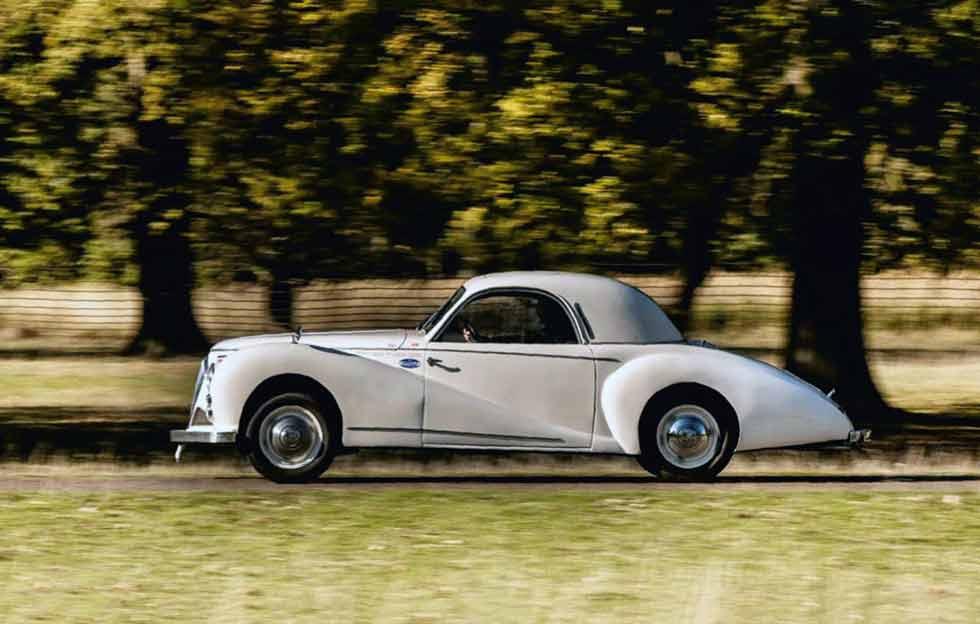 1948 Beutler-Healey - road test