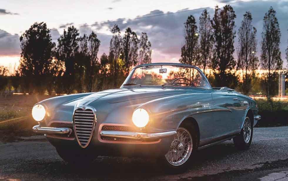 1955 Alfa Romeo 1900SS Cabriolet 'La Flèche'