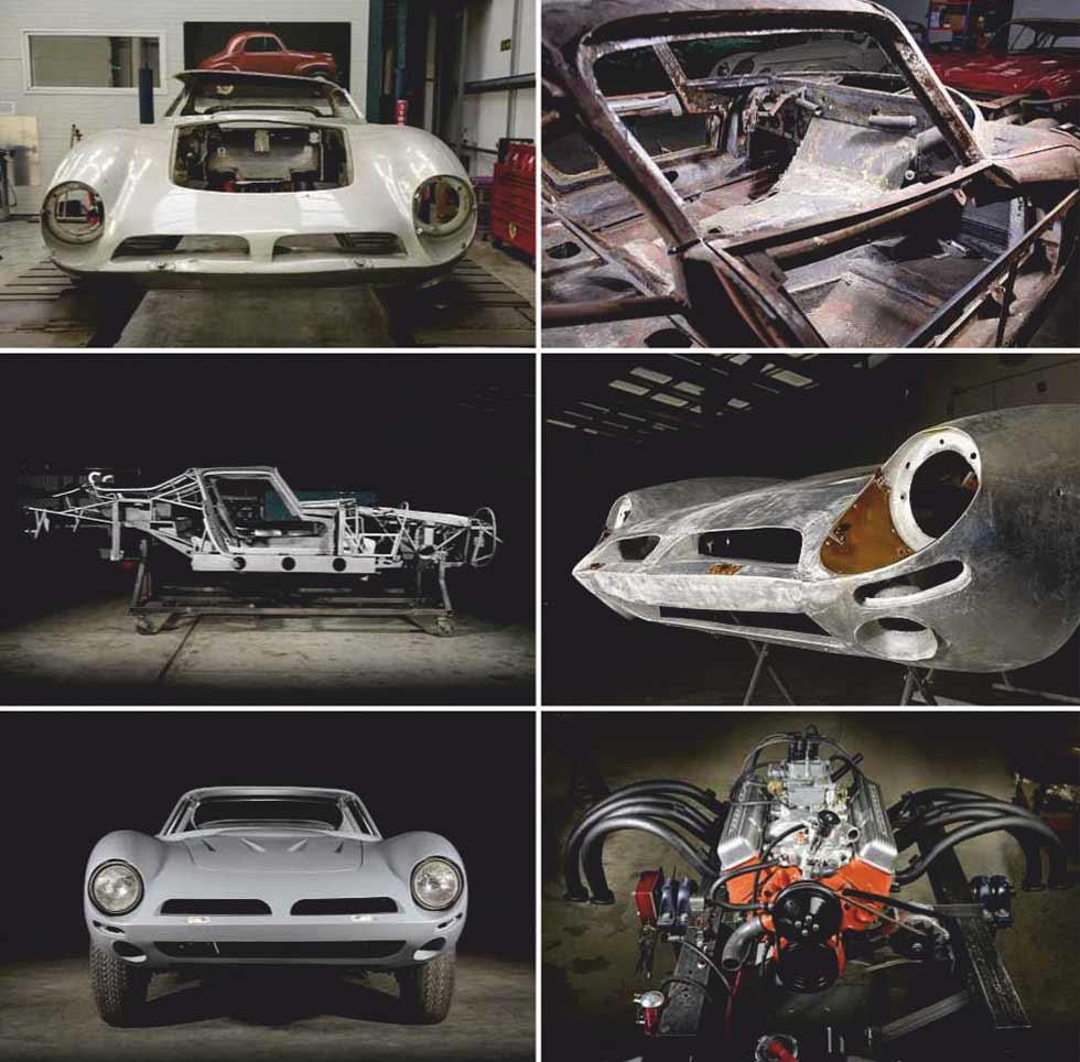 1967 Bizzarrini 5300 GT Strada restoration