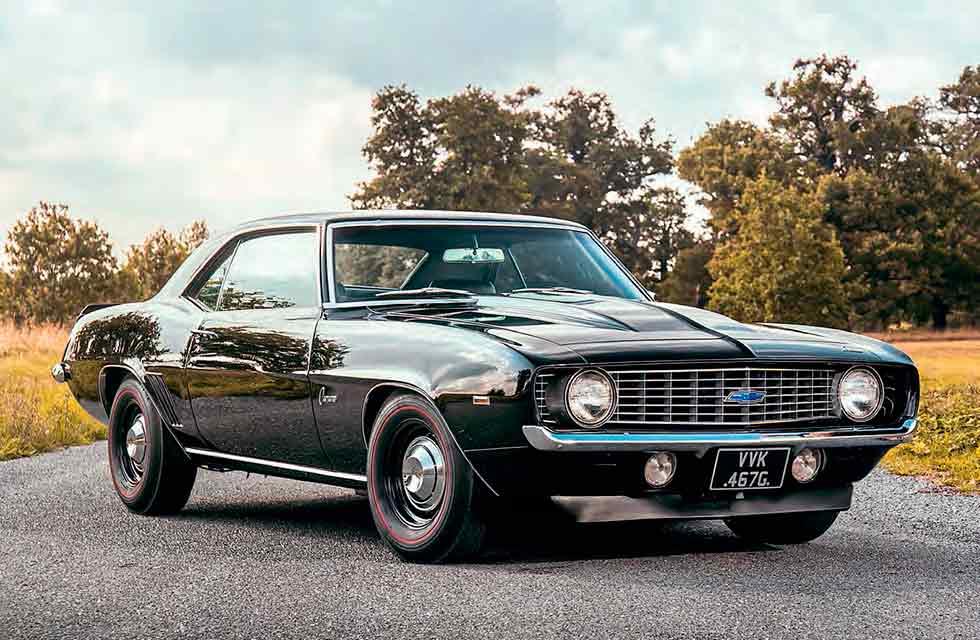 1969 Chevrolet Camaro COPO Black beauty