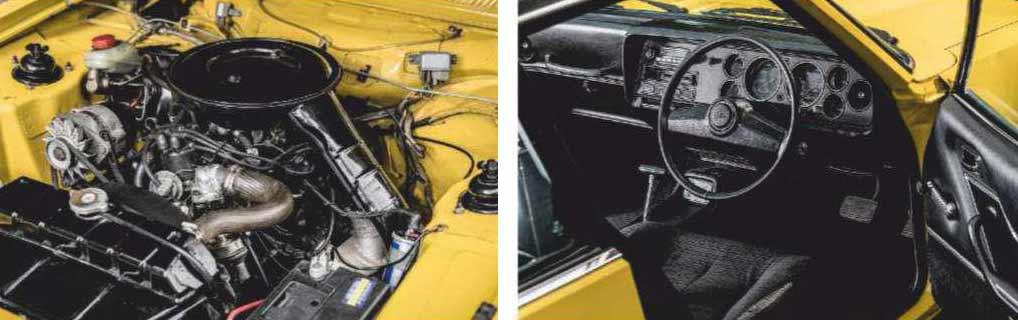1974 Ford Capri MkII 3.0 Ghia