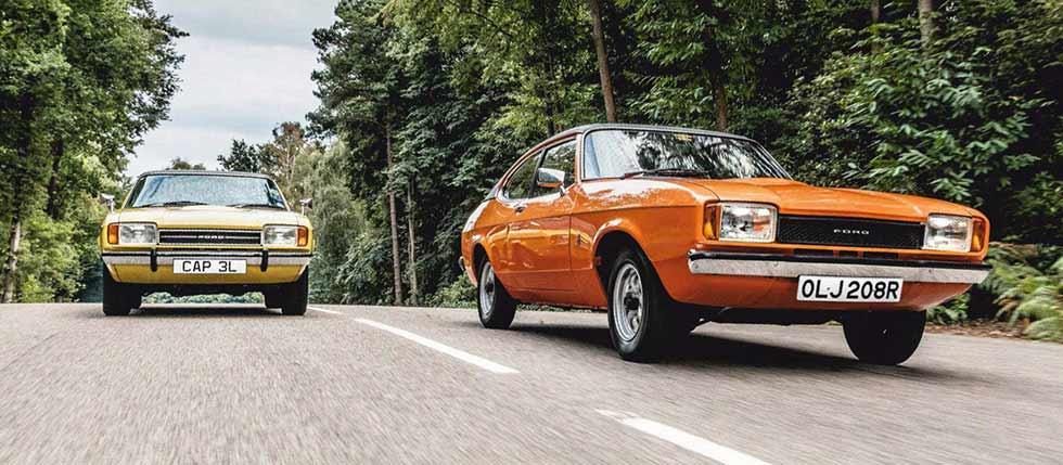 1976 Ford Capri MkII 1.3L road test