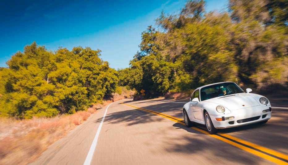 1997 Porsche 911 Carrera S 993 Turbo-look widebody - road test