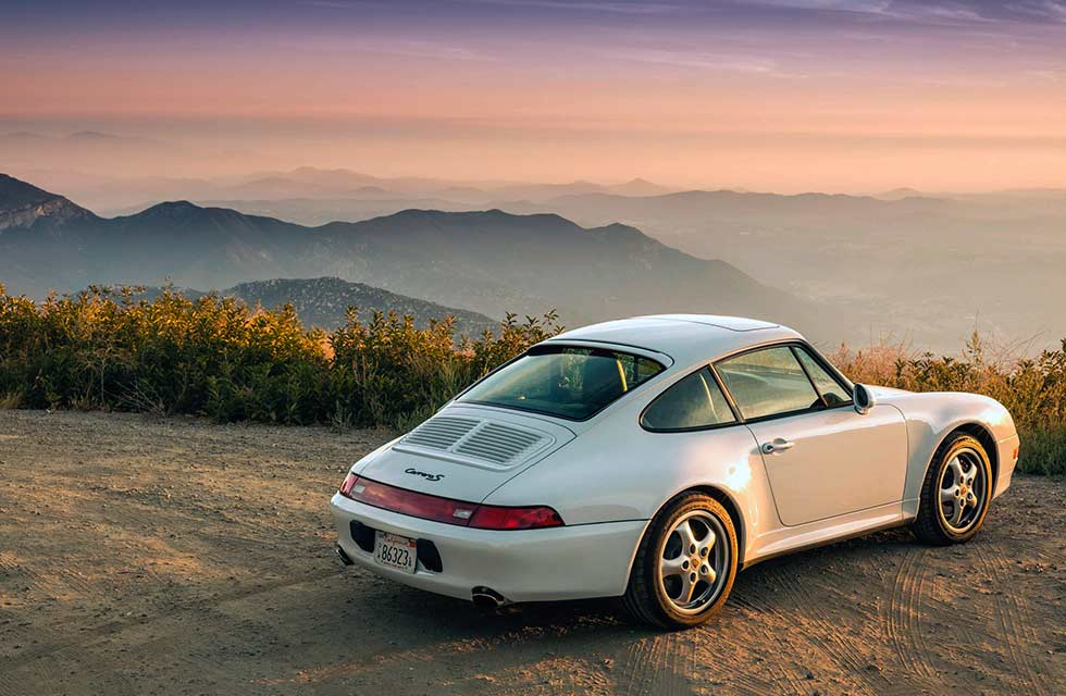 the Turbo-look 1997 Porsche 911 Carrera S 993