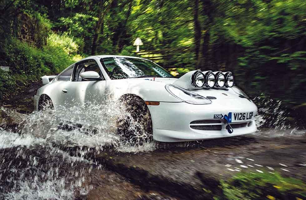 2000 Porsche 911 Carrera 2 996 3.4-litre RAC Rally