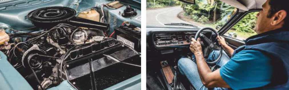1969 Ford Capri MkI 2000GT XL driven