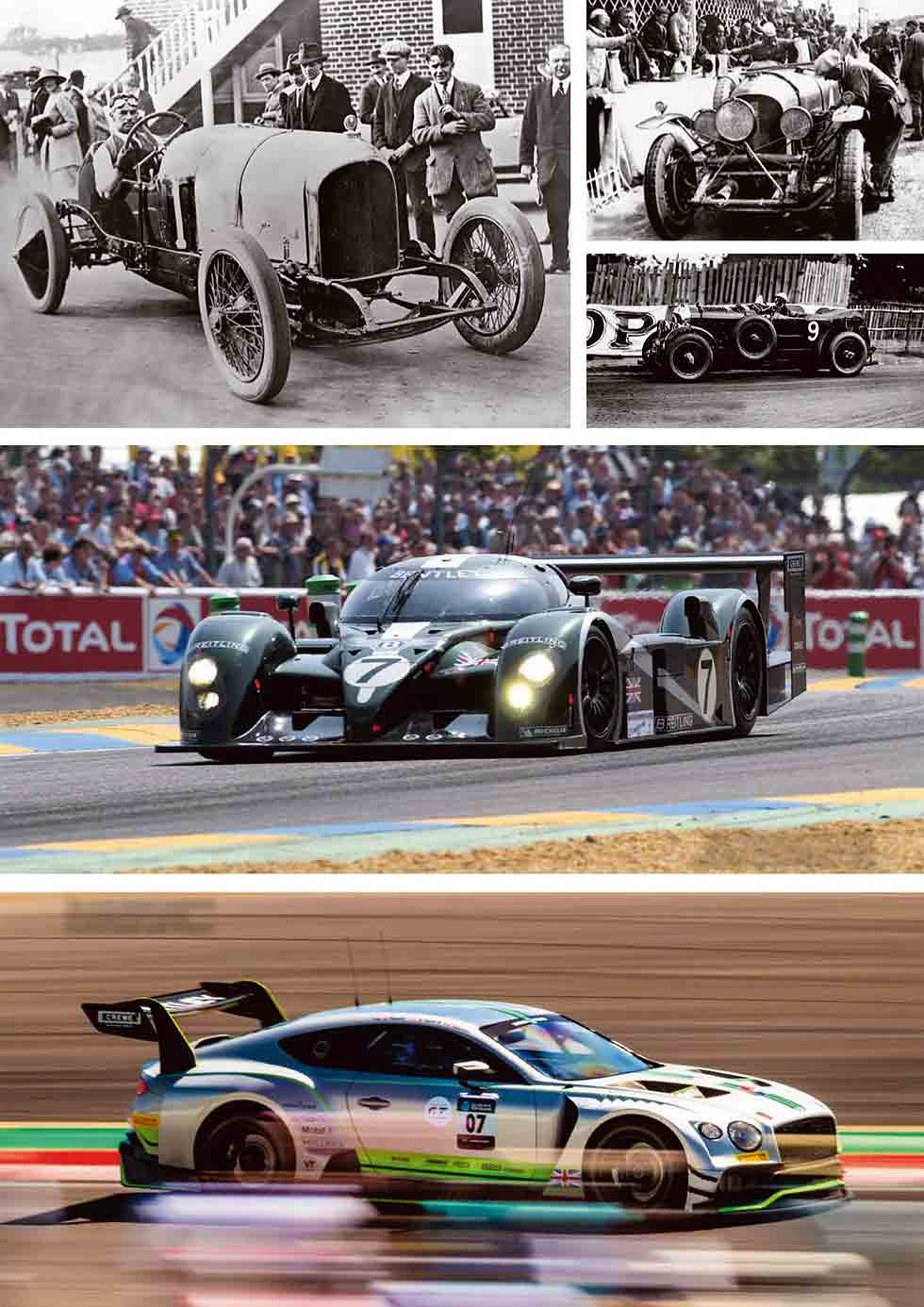 BENTLEY'S RACING PEDIGREE