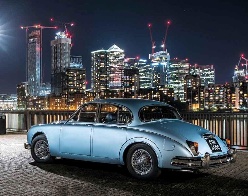 Jaguar Mk2 60th anniversary celebration