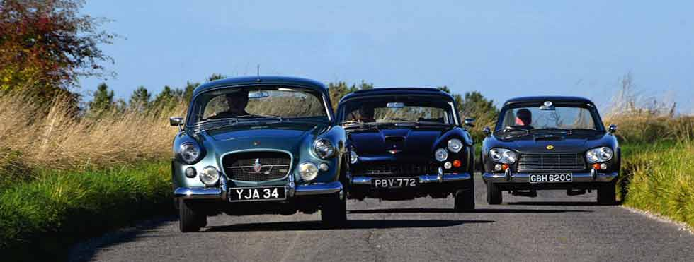 Martin Buckley tries to pick a winner from three of his favourite V8s: Jensen C-V8, Bristol 407 and Gordon-Keeble
