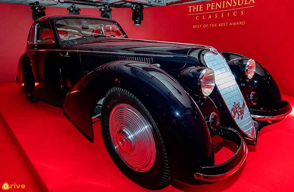 1937 Alfa Romeo 8C 2900B Berlinetta