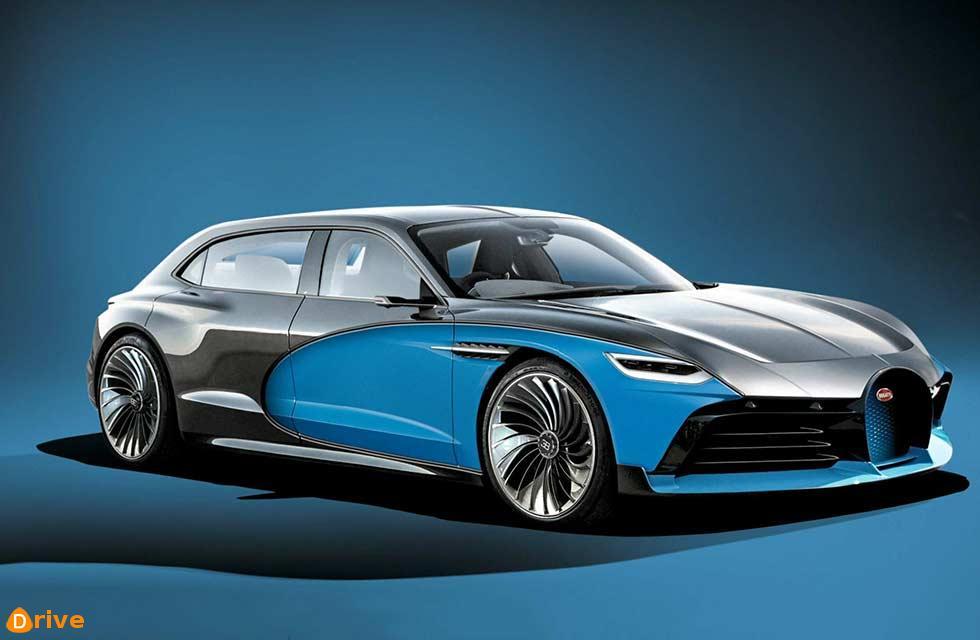 Bugatti's electric limo