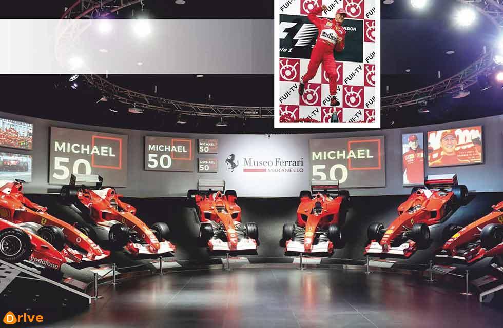 Schumacher at 50
