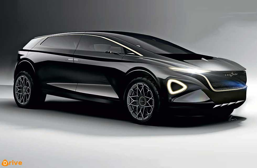 Electric luxury SUV will be revealed next month as a preview to a 2021 production car