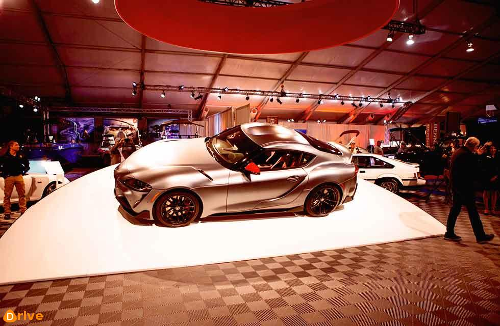 First Toyota Supra A90 sells for US$2.1M
