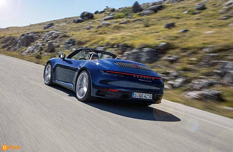 2020 Porsche 911 Carrera 4S Cabriolet Worldwide 992