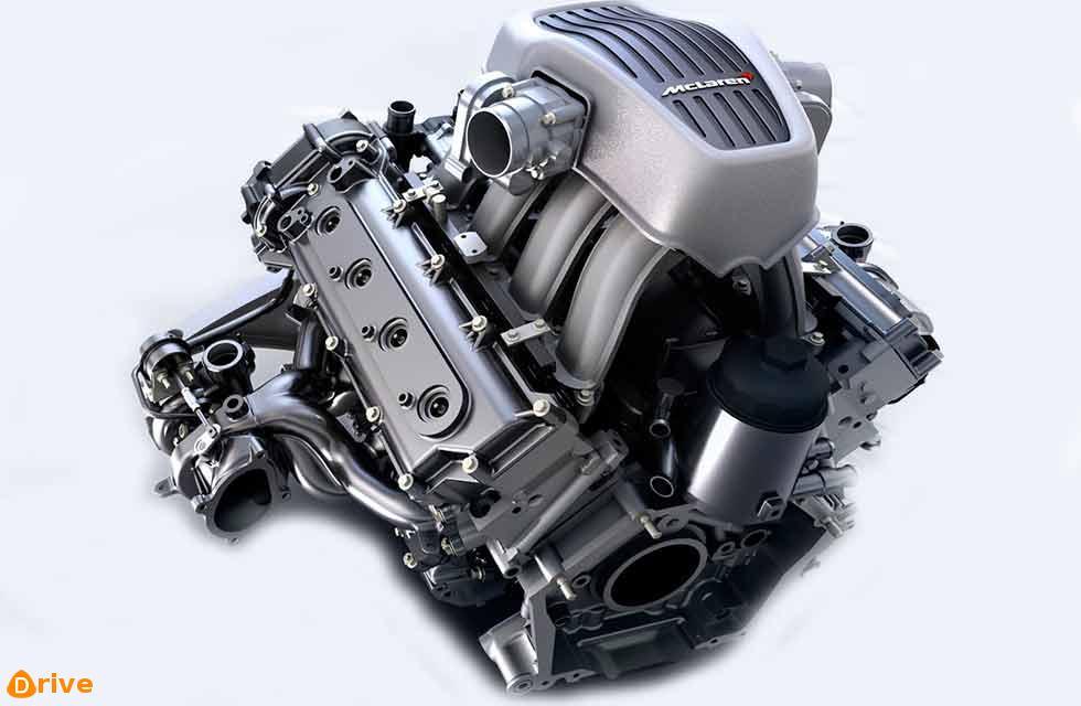 McLaren-Automotive M838T engine
