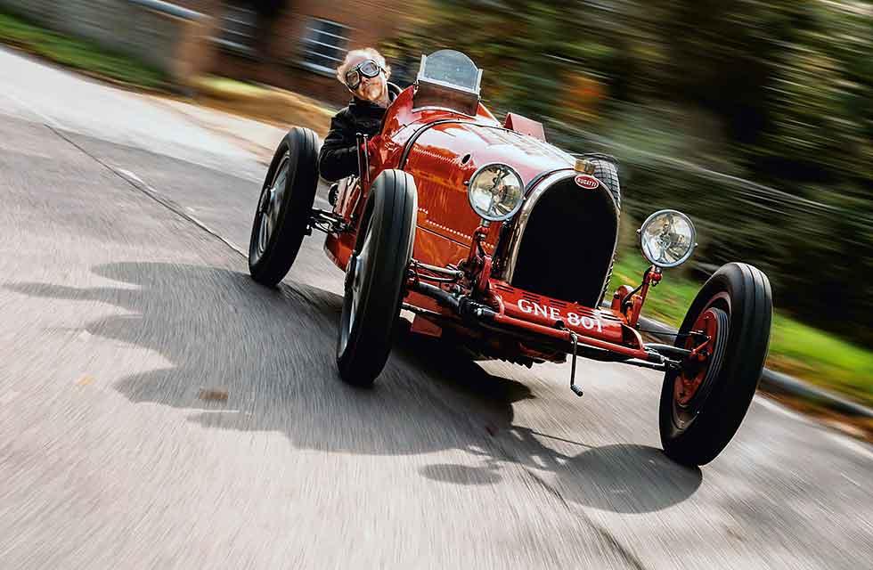 1927 Bugatti Type 35C driven