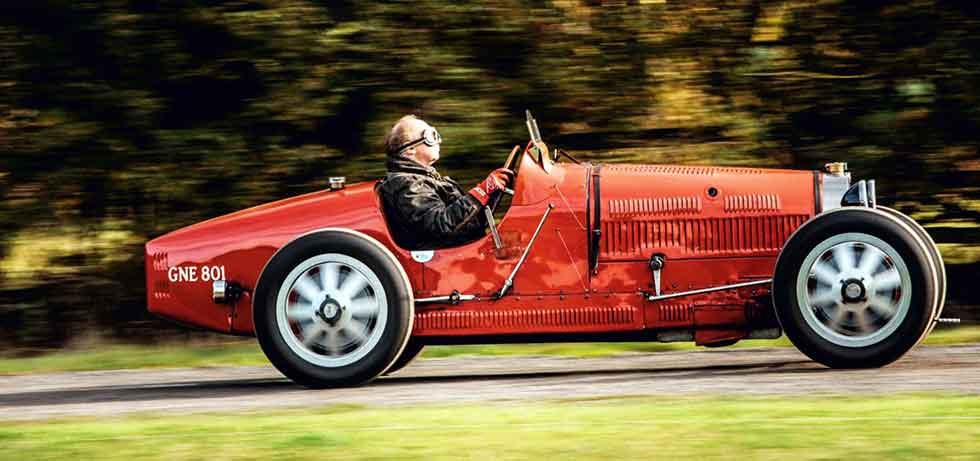 1927 Bugatti Type 35C - road test