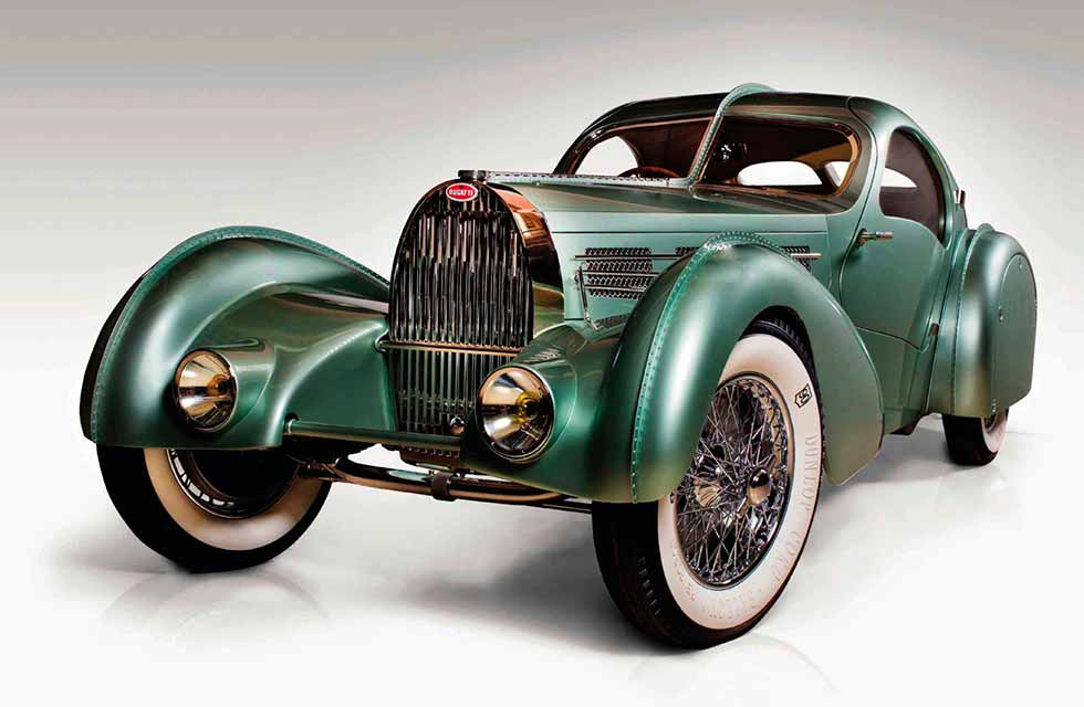 1934 Bugatti Aerolithe Recreation