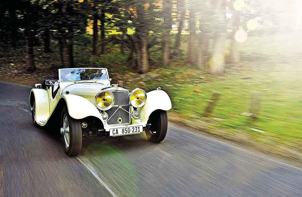 1936 SS Jaguar 100 - road test