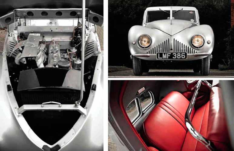 1939 Aston Martin Atom - road test