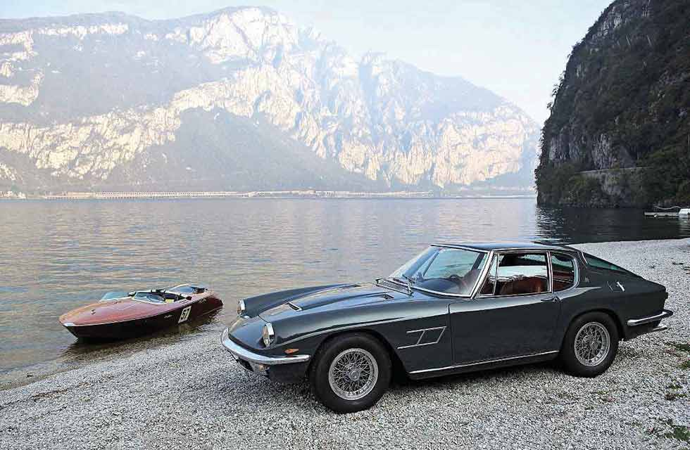 1963/1964 San Marco Runabout and  1964 Maserati Mistral