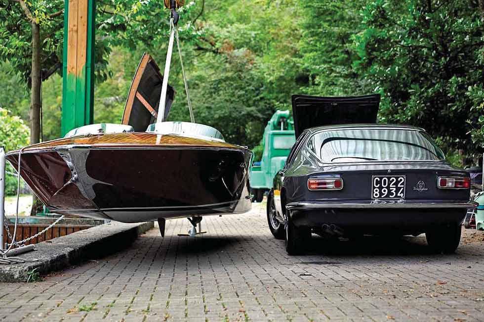 1964 Maserati Mistral & 1963 San Marco Runabout