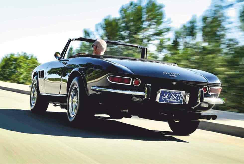 1967 Ferrari 330 GTS chassis #10703 /46 3627B / USA Montana reg / - road test