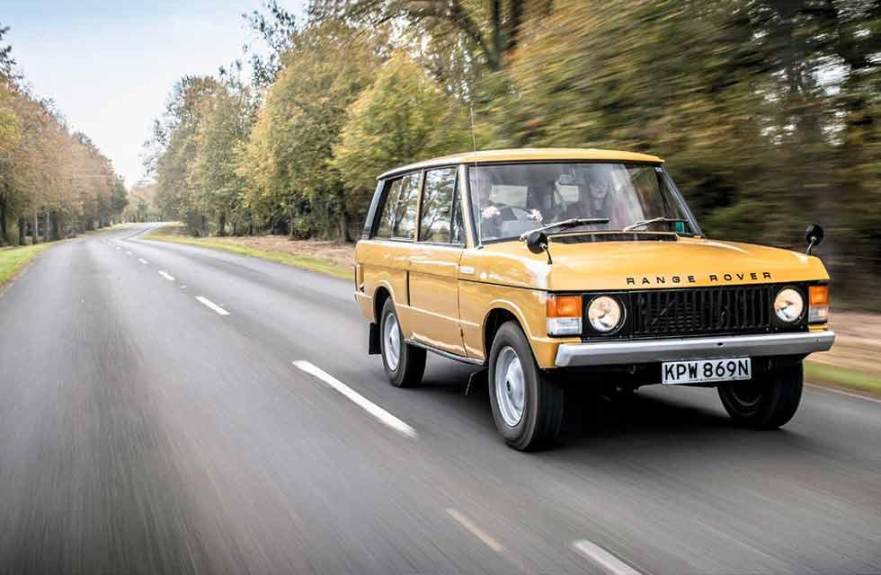 1973 Range Rover Suffix C - road test