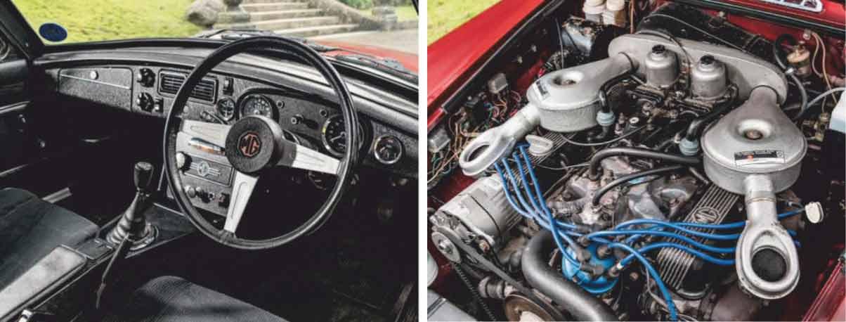 1975 MGB GT V8