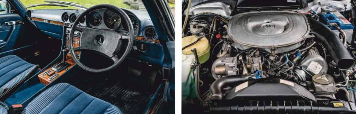 1981 Mercedes-Benz 380SLC C107
