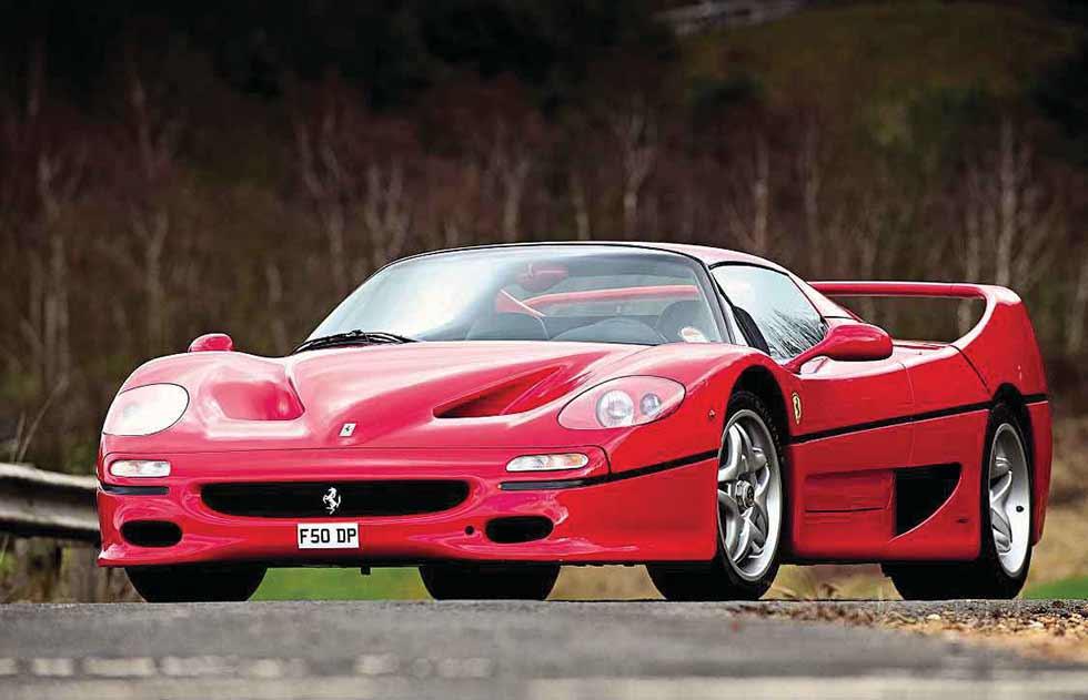 1995 Ferrari F50 - road test