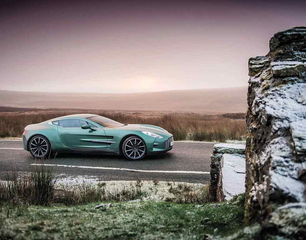 2012 Aston Martin One-77 - road test