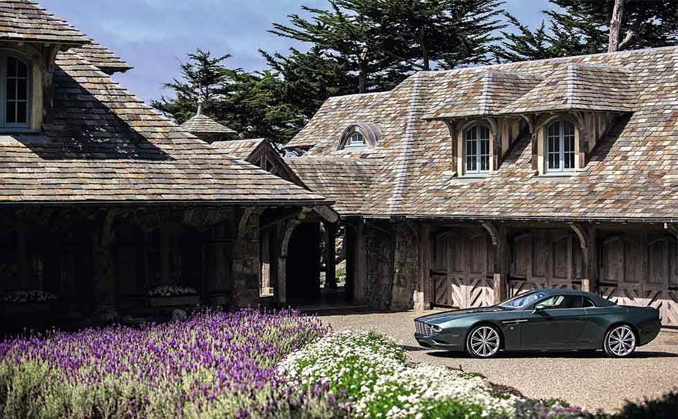 2013 Aston Martin Centennial DB9 Spyder Concept by Zagato
