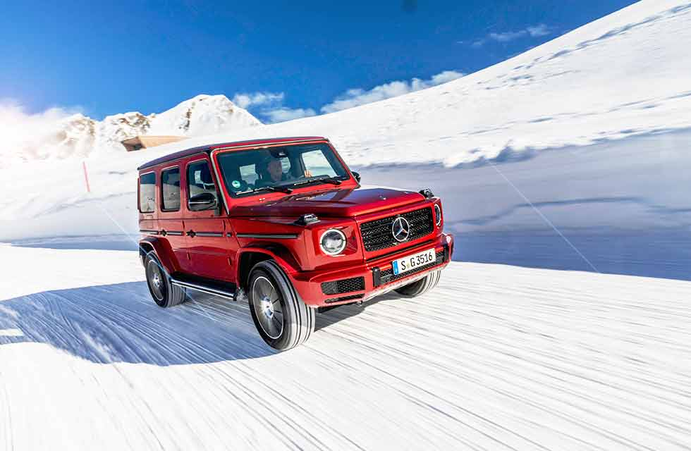 2020 Mercedes-Benz G 350 d AMG Line W463 - road test