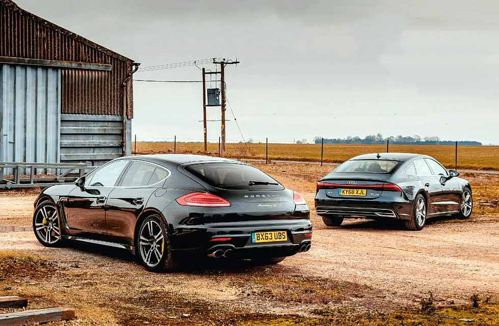 Used Porsche Panamera or new Audi A7?