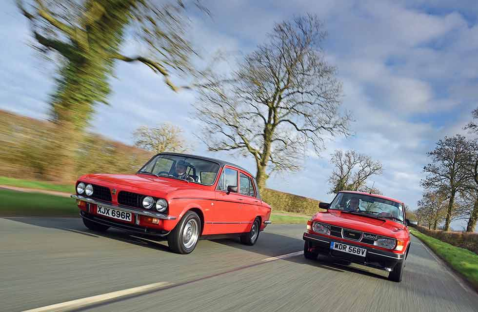 Saab 99 Turbo vs. Triumph Dolomite Sprint
