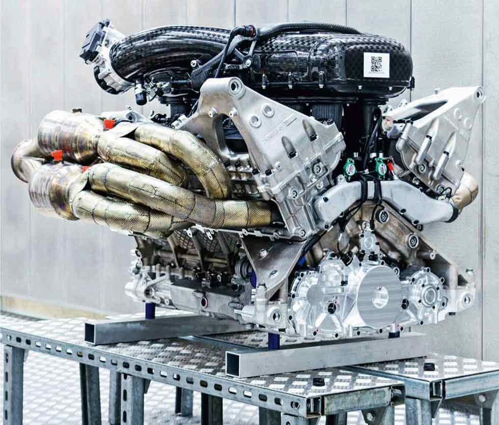 V12 destined for Aston's Valkyrie