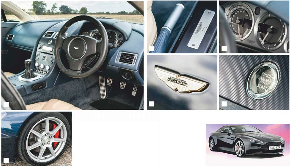 2005 Aston Martin V8 Vantage 4.3