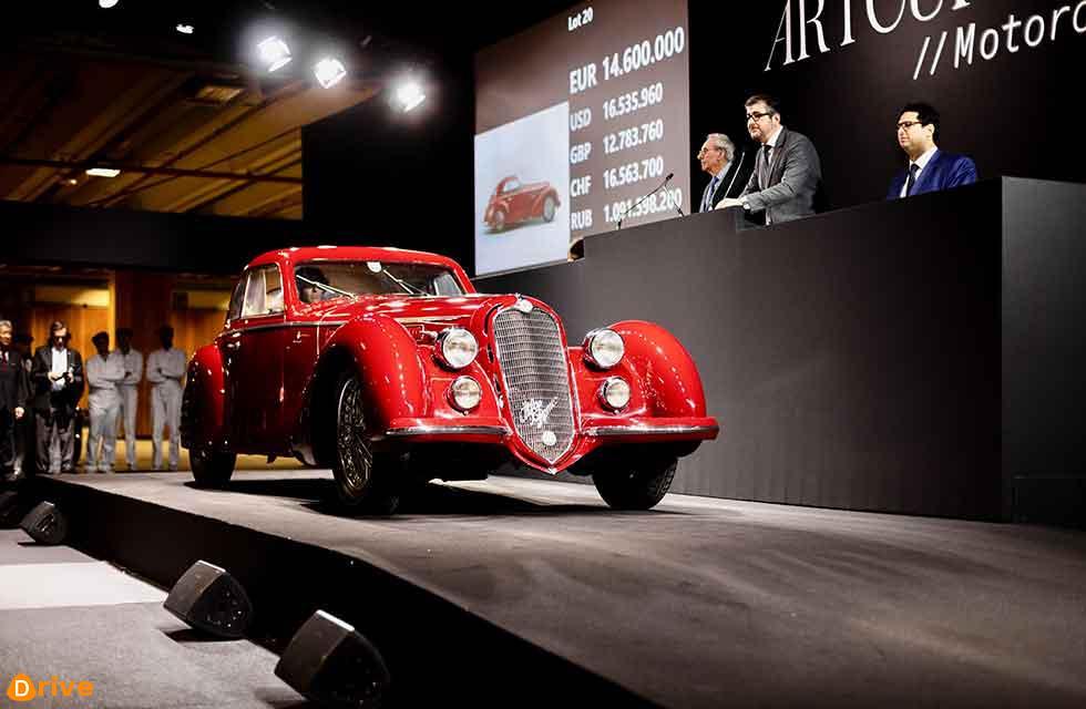 1939 Alfa Romeo 8C-2900B Touring Berlinetta