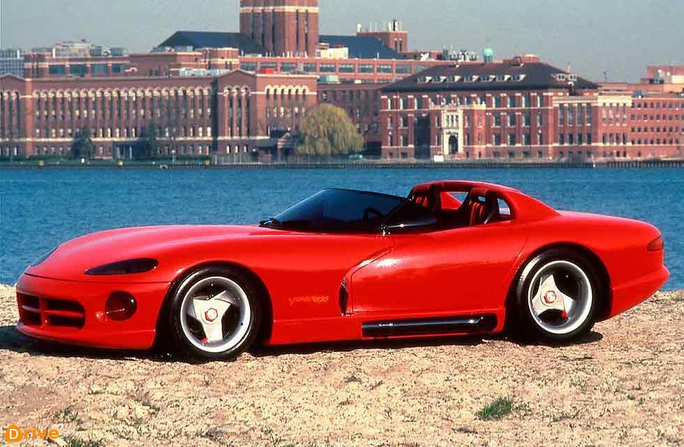 1989 Dodge Viper RT/10 Concept