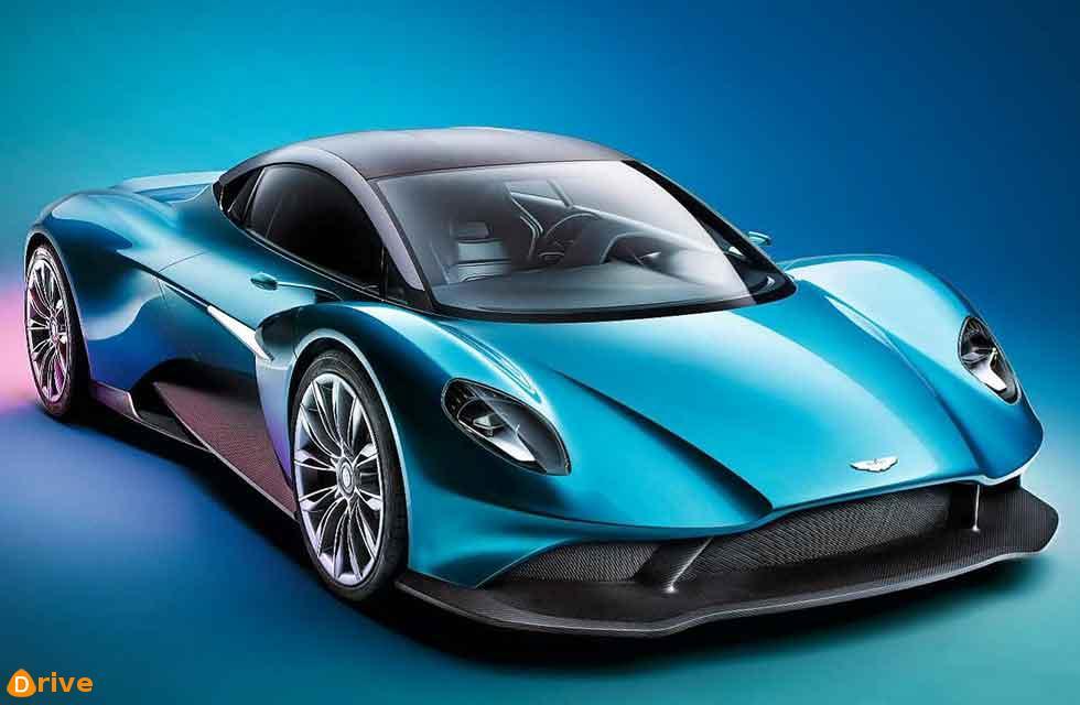 new Aston: Vanquish