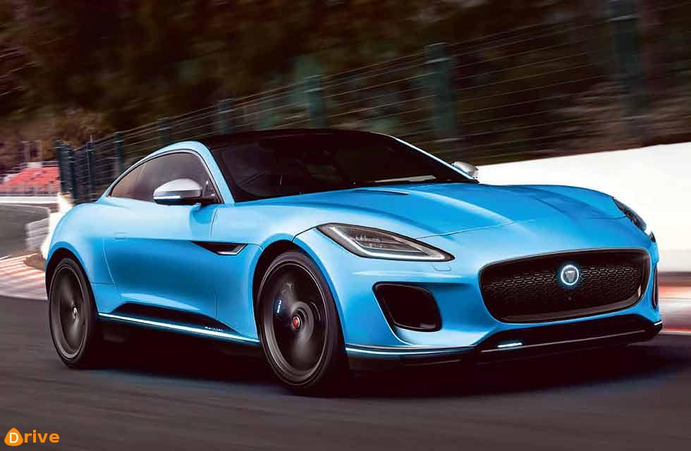 all electric Jag F-type
