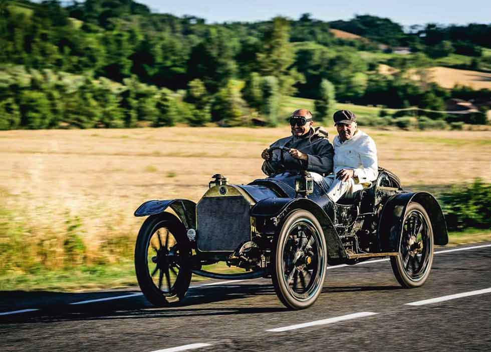 1909 Isotta Fraschini 10hp Tipo FENC - road test