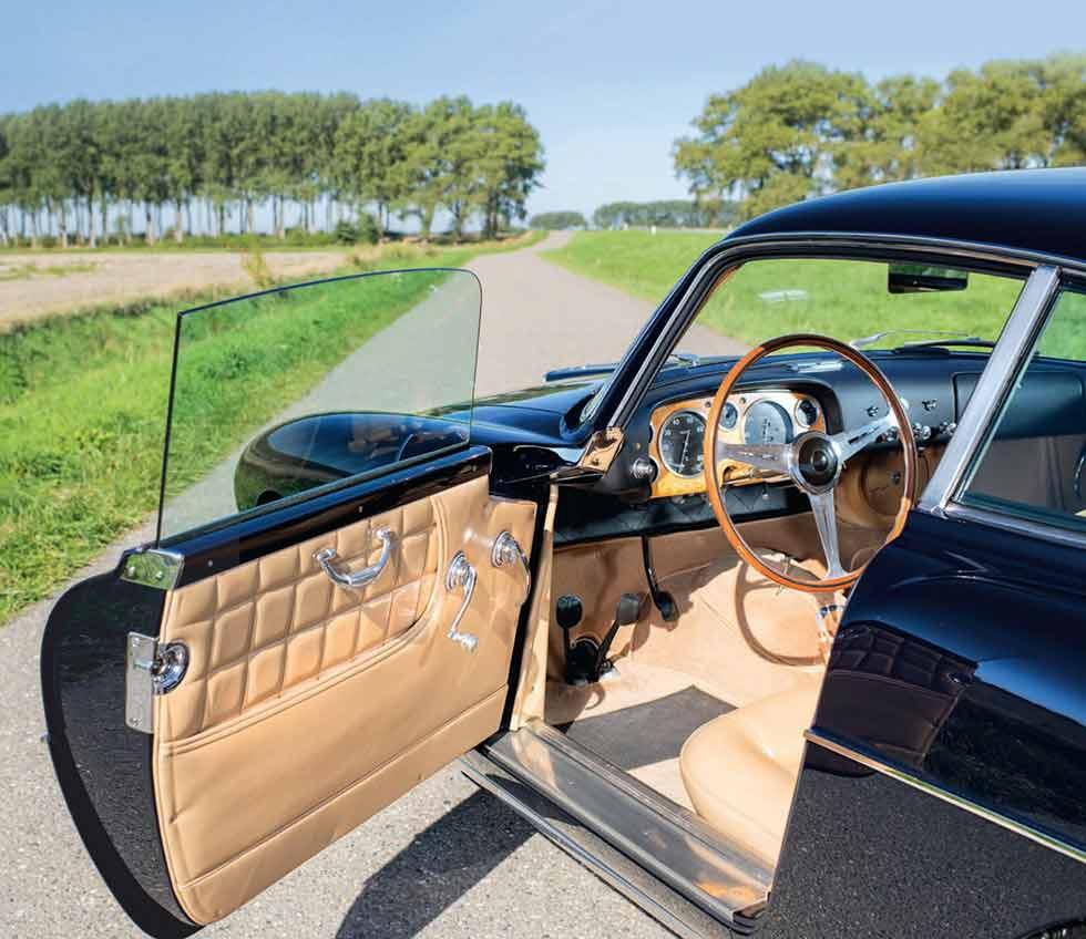 1955 Fiat 8V Vignale Tipo Mille Miglia - interior