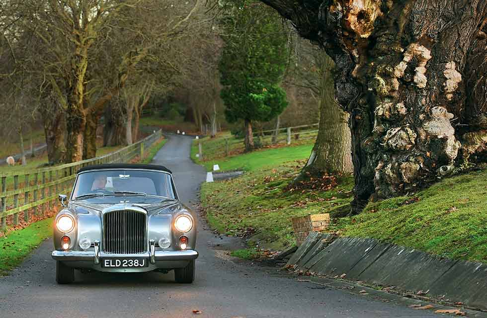 1961 Bentley S2 Continental Park Ward Drophead - rebuild of a coachbuilt