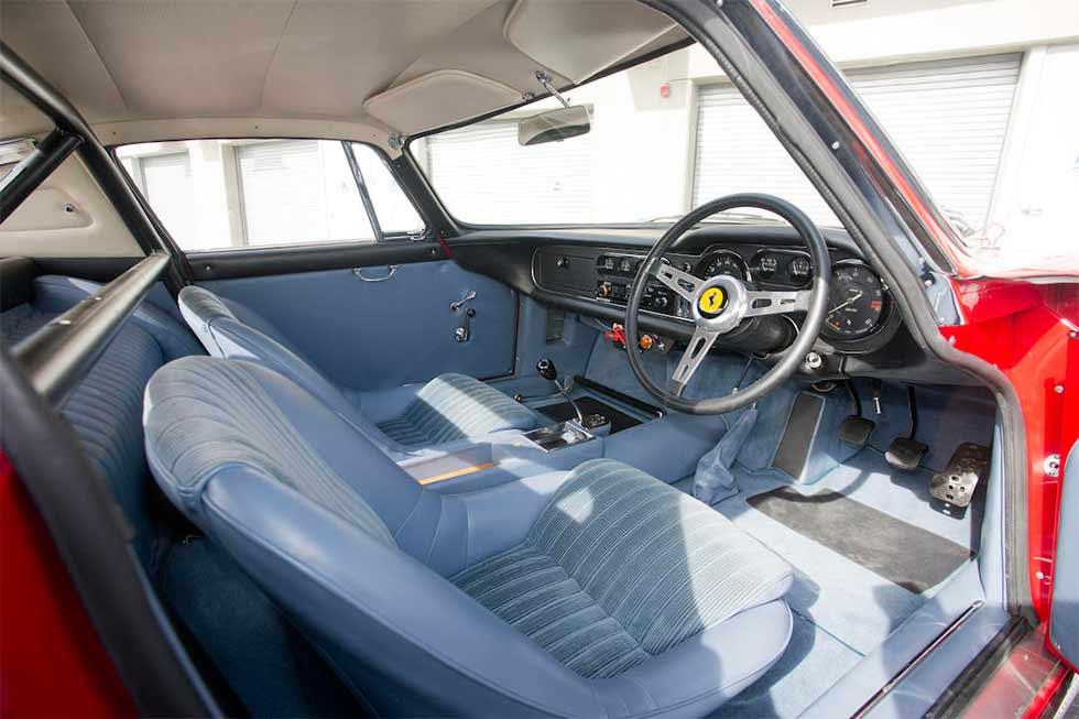 Ferrari 275 GTB/C Le Mans interior