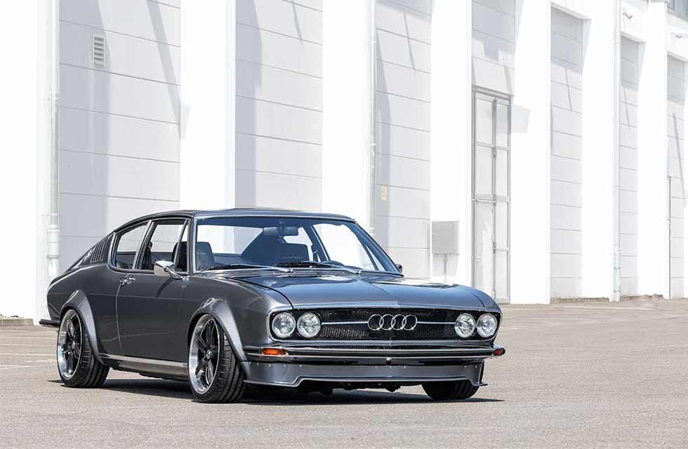 Audi 100 Coupé S von 1972.