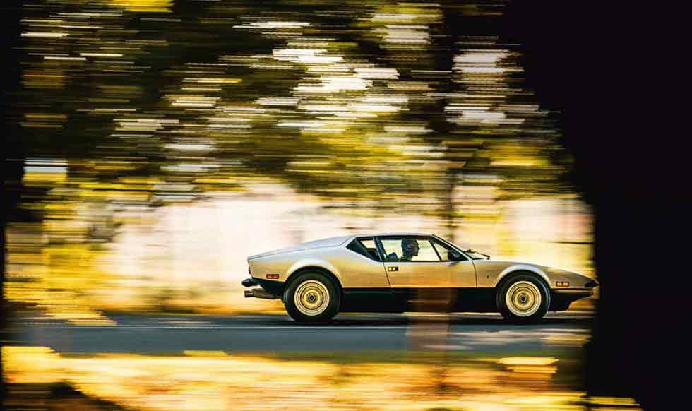 Drive early 1974 De Tomaso Pantera